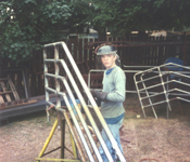 shop foreman as a kid